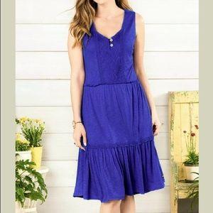 Matilda Jane Into the Blue Dress Womens Size M